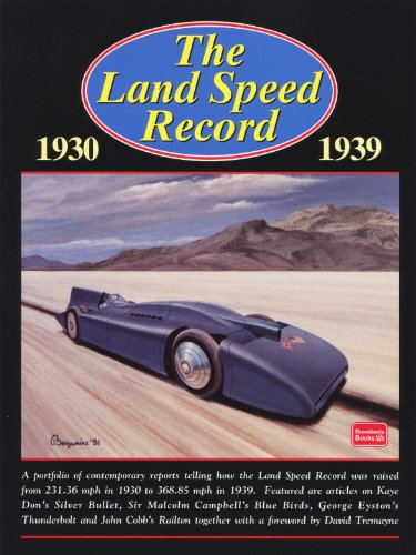 9781855205154: The Land Speed Record, 1930-1939