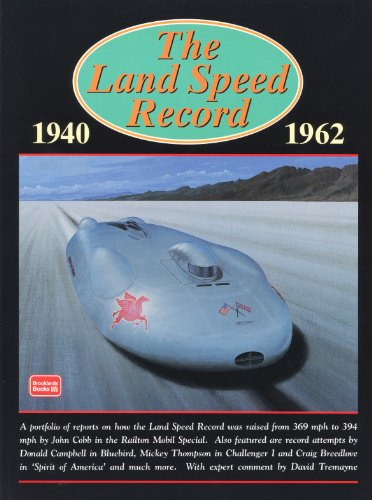 The Land Speed Record, 1940-1962 (Brooklands Books Road Test Series): R.M. Clarke