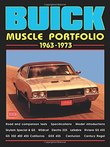 9781855205345: Buick Muscle Cars 1963-1973