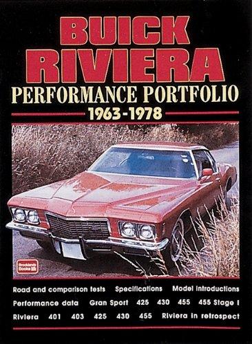 Buick Riviera 1963-78 Performance Portfolio: Clarke, R.M.
