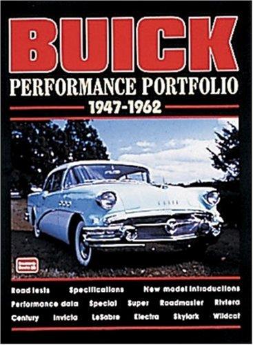 Buick: Performance Portfolio 1947-1962: Clarke, R. M.