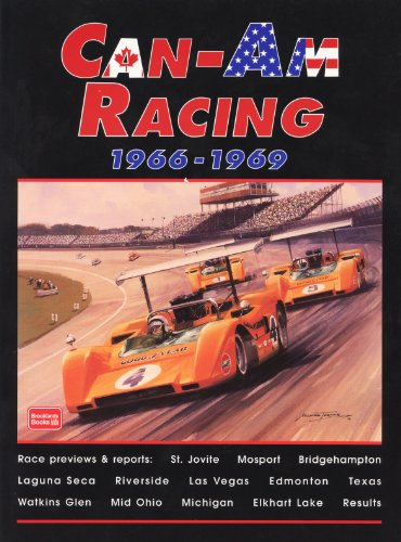 9781855205420: Can-Am Racing 1966-1969 (Brooklands Road Test Books)