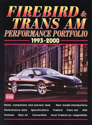 Firebird & Trans Am Performance Portfolio 1993-2000: Clarke, R.M.