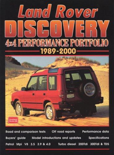 Land Rover Discovery 4x4 Performance Portfolio 1989-2000 (Paperback): R.M. Clarke