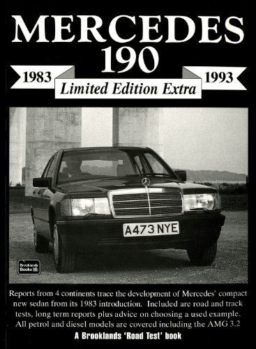 9781855205628: Mercedes 190 Limited Edition Extra 1983-1993 (Brooklands Books Road Test Series)