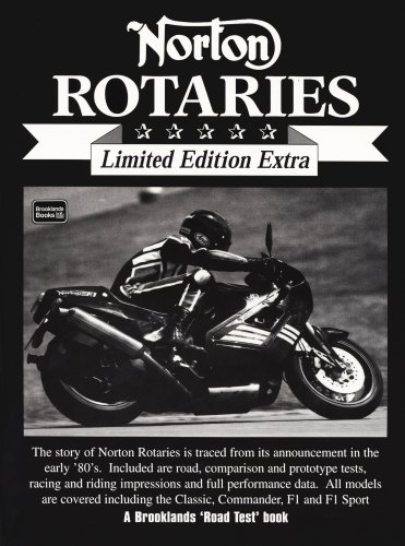 9781855205758: Norton Rotaries (Brooklands Road Test Limited Edition Extra)