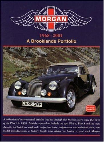 9781855205772: Morgan 1968-2001: A Brooklands Portfolio