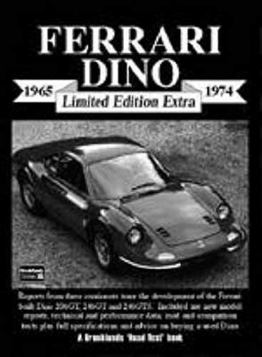 Ferrari Dino Limited Edition Extra 1965-1974 (1855205785) by R.M. Clarke