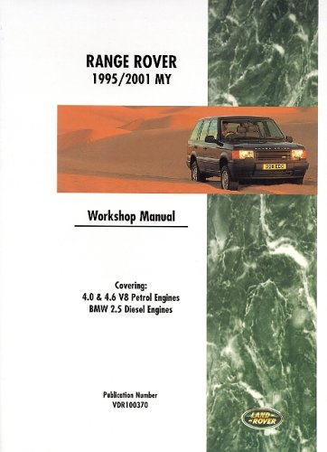 9781855206175: Range Rover 1995-2001 Workshop Manual
