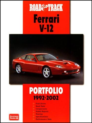 9781855206267: Road & Track Ferrari V-12 Portfolio 1992-2002