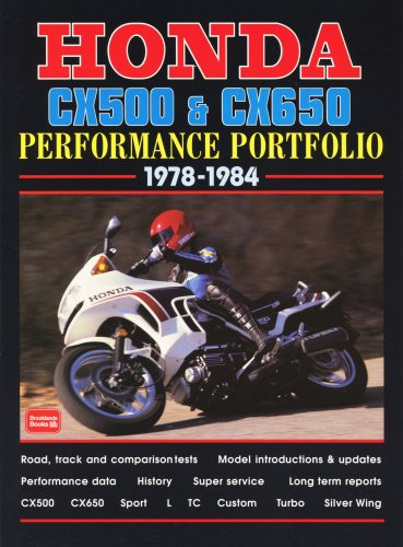 Honda CX500 & CX650 1978-1984 Performance Portfolio (1855206307) by R.M. Clarke