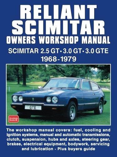 Reliant Scimitar Owners Workshop Manual & Portfolio: R.M. Clarke
