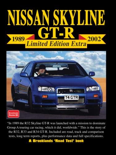9781855206342: NISSAN SKYLINE GT-R 1989-2002 LIMITED EDITION EXTRA