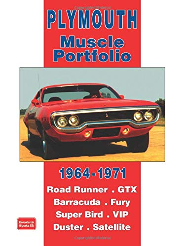 9781855206397: Plymouth 1964-1971 -Muscle Portifolio