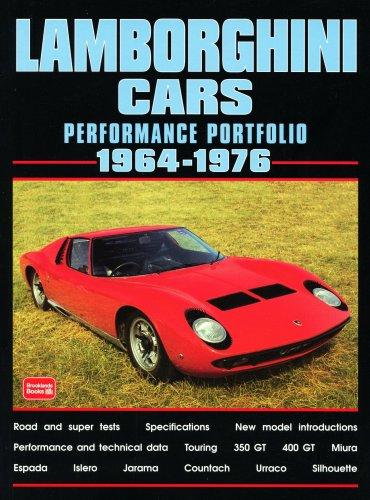 Lamborghini Cars 1964-1976 Performance Portfolio