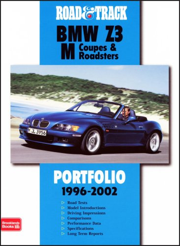 9781855206526: Road & Track BMW Z3 M Coupes & Roadsters (Road and Track Portfolio)