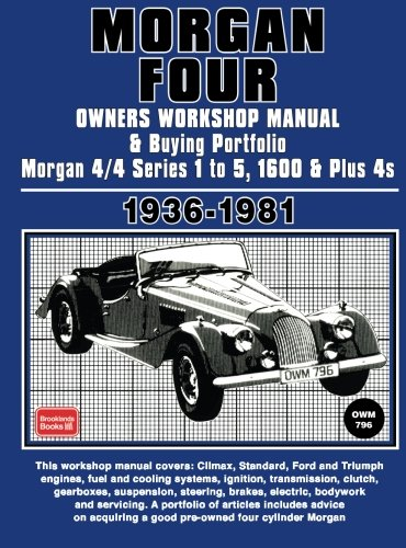 9781855206564: Morgan Four Owners Manual And Buying Guide 1936-1981