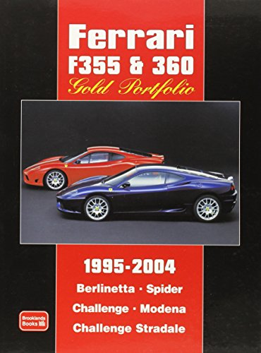 9781855206847: Ferrari F355 & 360 Gold Portfolio 1995-2004