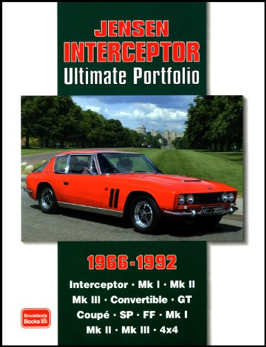 9781855206885: Jensen Interceptor Ultimate Portfolio 1966-1992