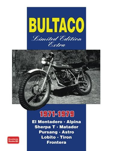 9781855206922: Bultaco Limited Edition Extra 1971-1979 (Brooklands Books Road Test Series)