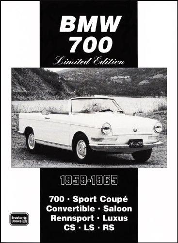 BMW 700 Limited Edition 1959-1965: Clarke, R.M.