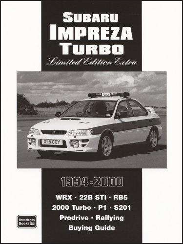 Subaru Impreza Turbo 1994-2000 (Motor Books)