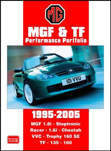 9781855207073: Mgf & TF Performance Portfolio 1995-2005 (Motor Books)
