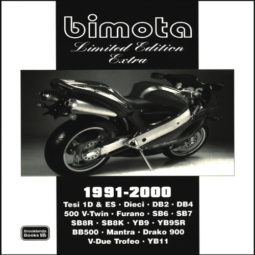 9781855207097: Bimota Limited Edition Extra 1991-2000