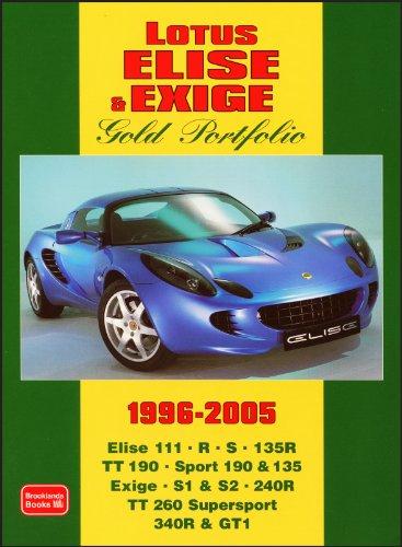 Lotus Elise & Exige Gold Portfolio 1996-2005: Clarke, R. M.