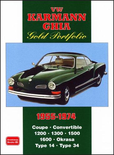 9781855207189: VW Karmann Ghia Gold Portfolio 1955-1974