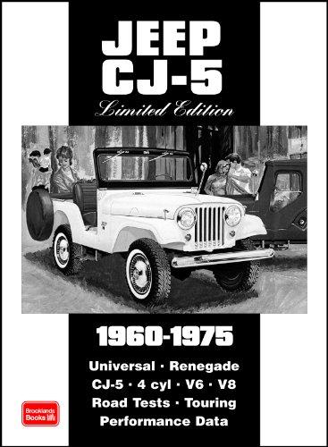 9781855207196: Jeep CJ-5 Limited Edition 1960-1975