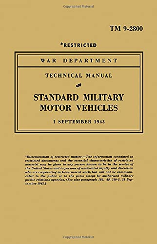 9781855207202: TM 9-2800 STANDARD MILITARY MOTOR (Military Technical Manual)
