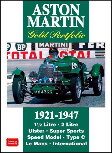 9781855207219: Aston Martin Gold Portfolio 1921-1947