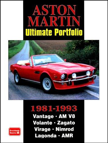Aston Martin Ultimate Portfolio 1981-1993: R. M. Clarke