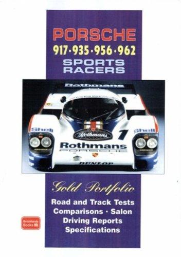 9781855207318: Porsche 917 - 935 - 956 - 962 Sports Racers Gold Portfolio