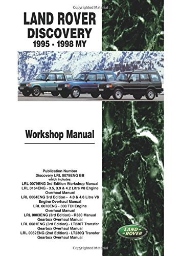 Land Rover Discovery 1995-98 Official Workshop Manual