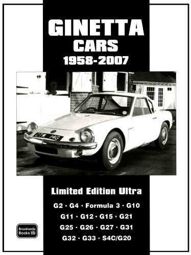 9781855207653: Ginetta Cars Limited 1958-2007 Limited Edition Ultra