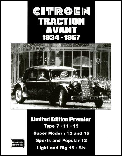 Citroen Traction Avant 1934-1957 (Limited Edition Premier): Clarke, R.M.
