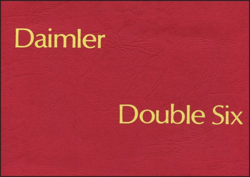 Daimler Double Six Series 1 Official Handbook (Paperback)