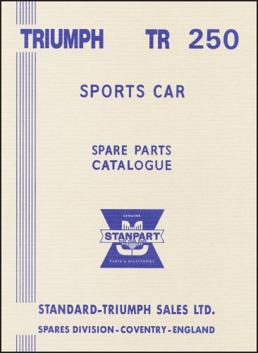 9781855208230: Triumph TR250 Spare Parts Catalogue