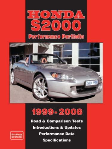 9781855208247 Honda S2000 Performance Portfolio 1999 2008 Road And