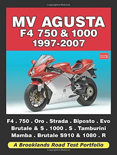 9781855208605: MV Agusta F4 750 and 1000 1997-2007 Road Test Portfolio