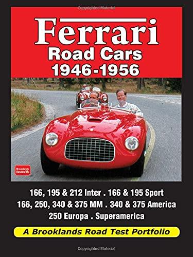 9781855208643: Ferrari Road Cars 1946-1956 Road Test Portfolio