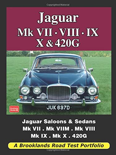 9781855208674: Jaguar Mk VII. VIII. IX. X and 420G