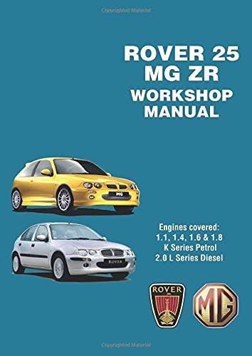 9781855208834 rover 25 mg zr workshop manual owners manual rh abebooks co uk mg zr user manual pdf mg zr service manual