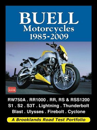 Buell Motorcycles 1985-2009 (Road Test Portfolio): Clarke, R.M.