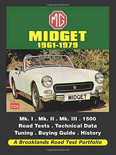 9781855208957: MG Midget 1961-1979 (Road Test Portfolio)
