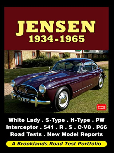 9781855209008: Jensen 1934-1965 (Road Test Portfolio)