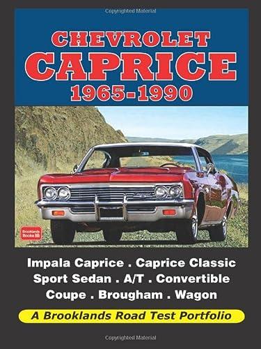 Chevrolet Caprice 1965-1990 (Road Test Portfolio): Clarke, R.M.