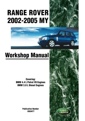 9781855209046 range rover 2002 2005 my workshop manual covering rh abebooks co uk Old Land Rover Discovery Land Rover Discovery